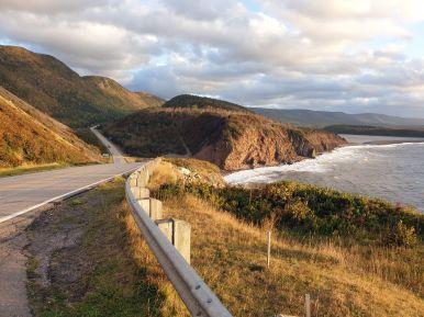Cabot Trail bei der Petit Etang Beach, Cape Breton Island