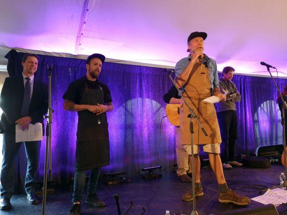 Justin Wolfe und Michael Smith beim Flavors of Fall Festival, North Rustico