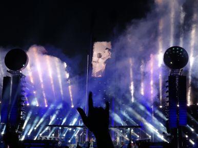 Pommesgabel bei Rammsteinkonzert