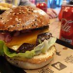 Wagyu Burger in der Burger Bar Amsterdam