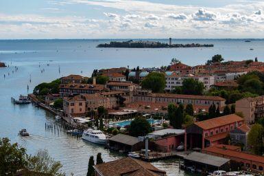 Kleinere Inseln in der Lagune von Venedig