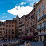 Palazzi am Piazzo del Campo, Siena