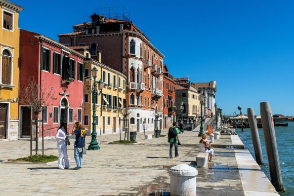 San Basilio Ufer in Venedig