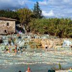 Wasserfall von Saturnia, Toskana, Italien
