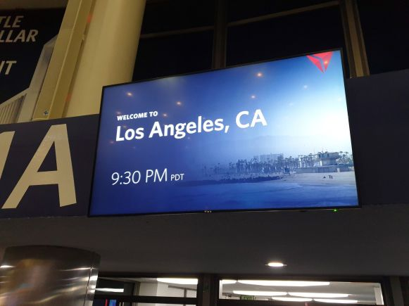Welcomte to Los Angeles, CA Delta Monitor